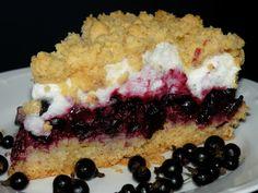 Bake&Taste: Pleśniak z czarnymi porzeczkami