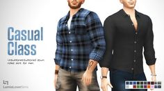 Lumia Lover Sims: Classy casual shirt • Sims 4 Downloads