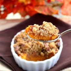Ruth's Chris Sweet Potatoes Casserole - The Girl Who Ate Everything