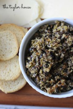 This easy Olive Tapenade recipe makes a great dip for STACY'S Pita Chips!