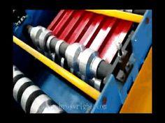 Ligne de profilage pour tôle tuile ondulée, machine profileuse de ...