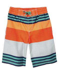Stripe Swim Trunks at Crazy 8