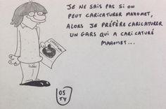 La liberté de la caricature, par Julien Osty @JeSuisCharly