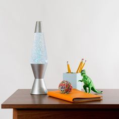 A glitter lamp to mesmerize you. | 37 Things That Prove Money Really Can Buy Happiness