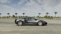 The McLaren MP4-12C - looks best in this colour as it hides the black plastic