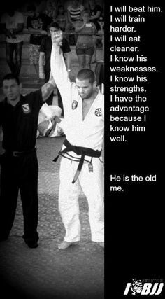 True. In judo people who have no self belief are the losers,you have to get out of that mentality. (/her on the quote)