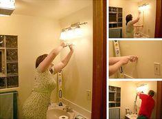 New lights can brighten up any room shows @Nicole Balch via MyColortopia.com