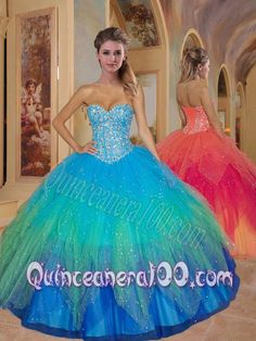 033d88202ec Buy special sweetheart beading quinceanera dresses in multi color from 2014  sweet 16 dresses collection