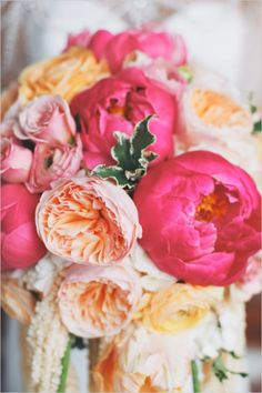 A wedding bouquet That Will Knock Your Socks Off! Plus one heck of a glamorous Gatsby inspired shoot that will have you saying Yow-za! Photographed by The Leekers. Floral Wedding, Wedding Bouquets, Rustic Wedding, Wedding Flowers, Floral Centerpieces, Floral Arrangements, Orange And Pink Wedding, Wedding Flower Inspiration, Wedding Ideas