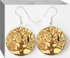 Tree Of Life earrings. Follow this board to see new designs daily in your pinterest feed!