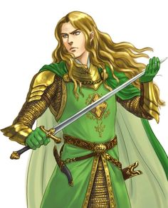 Glorfindel, Lord of the House of the Golden Flower by Kamehame