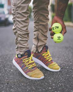 "adidas x Pharrell Williams Tennis Hu ""Multicolor"""