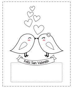 Tarjetas del día de los enamorados para colorear Descarga e imprime gratis estas bonitas tarjetas de San Valentín para colorear. Son tarjetas sencillas que puedes regalar a tu enamorado o enamorada con tu toque personal, además puedes ponerles una dedicatoria o frase romántica escrita con tu letra para que sea más valioso el recuerdo. San Valentín es una fecha para los enamorados, pero también es una fecha especial para los más pequeños y dar y recibir tarjetas se convierte en algo…