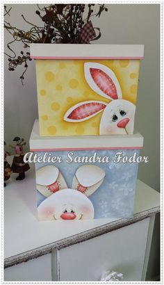 Atelier Sandra Fodor Rainy Day Crafts, Easter Holidays, Tole Painting, Painting On Wood, Spring Crafts, Arte Country, Madera Country, Country Crafts, Victorian Dolls