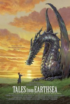 Tales from Earthsea is a 2006 Japanese animated fantasy based on characters & stories from the first four books of Ursula K. Le Guin's Earthsea series.
