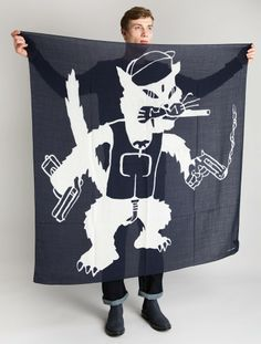 Our Legacy Evil Cat Scarf