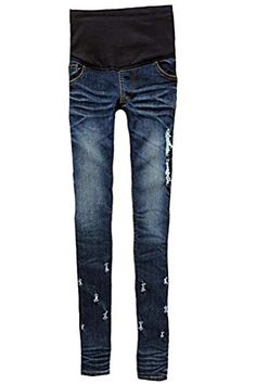 MTRNTY Womens Maternity High Elastic Waist Skinny Jeans 3001 Medium -- You can get more details by clicking on the image. Note: It's an affiliate link to Amazon.