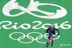 Connor Fields médaille d'or en BMX - © Reuters   Toute reproduction, même…