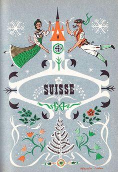 Vintage Switzerland Poster