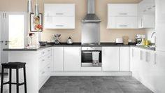 8 Exclusive Ideas For Kitchen Cabinet Design Kitchen Units, Kitchen Backsplash Designs, Kitchen Design Small, Kitchen Cabinet Design, White Gloss Kitchen, Best Kitchen Cabinets, Kitchen Fittings, Kitchen Layout, Kitchen Sink Design