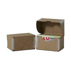 The winner colour plastic business card box business card file jam paper chipboard business card box brown kraft reheart Image collections