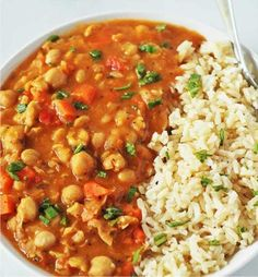 Chickpea Stew (Vegan, Gluten-free) - basil, bellpepper, carrot, cayennepepper, cook, garlic, healthy, onion, oregano, parsley, recipes, tomato