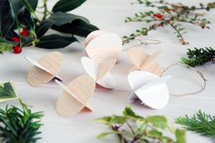 Fall For DIY Balsa Wood Baubles