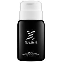 DELETE - Nail Polish Remover - Formula X | Sephora. Take nail polish off all 5 nails at once