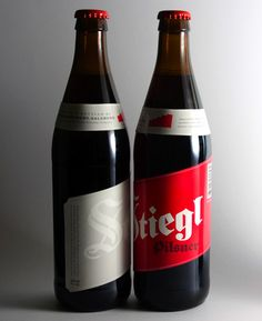 Stiegl Beer Designed by Skinny Ships | Country: United States