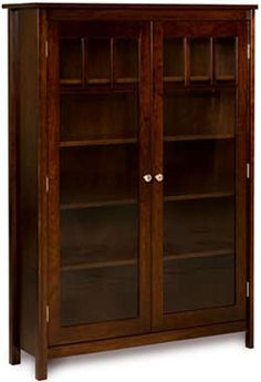 Amish Outlet Store : Mission Single Bookcase In Rustic Q.S. White Oak