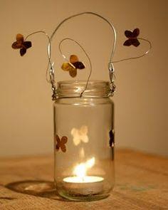 Gorgeous tea light holders