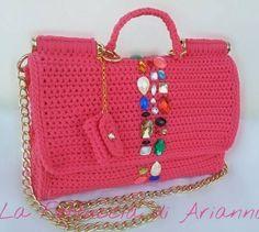 Chique crochet handbagage