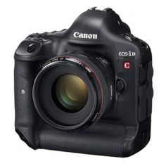 Canon's newest D-SLR, the EOS-1D C, is clearly targeted at professional cinematographers. The $15,000 camera looks just like the EOS-1D X from the outside, but it's what's under the hood that matters.