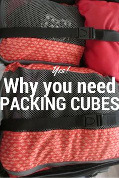 I thought packing cubes were a gimmick. Then I tried them. Yes - you DO need packing cubes
