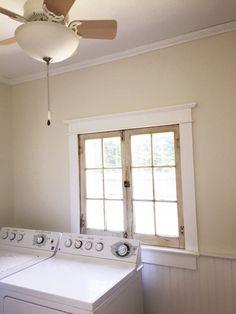 - GO-Cottage Laundry Room, Window, Cottage, Laundry Rooms, Windows, Cottages, Cabin, Farmhouse, Laundry