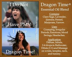diy dragon time essential oil - Google Search
