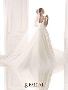 板橋蘿亞手工婚紗 Royal handmade wedding dress 婚紗攝影 購買婚紗 單租婚紗 西班牙 Pronovias BILMA