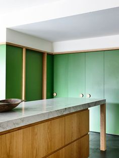 Nothing invigorates a room faster than a little colour — and some of the most fun spots to add colour is in the room you'd least expect. These kitchen cabinet and renovation projects will definitely make you rethink the most popular room in your home, and they just might even put a smile on your face, too.