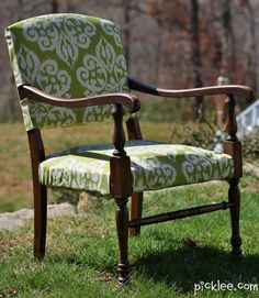 The World's Ugliest Chair Gets a Makeover! {Before & After}