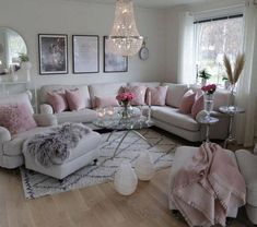 What a girlie and glam living room. 2019 What a girlie and glam living room. The post What a girlie and glam living room. 2019 appeared first on Apartment Diy. Romantic Living Room, Living Room Decor Cozy, Shabby Chic Living Room, Home Living Room, Apartment Living, Living Room Designs, Decor Room, Romantic Home Decor, Pastel Living Room
