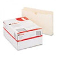 Desk Supplies>Desk Set / Conference Room Set>Holders> Files & Letter holders: Economical File Jackets with Two Inch Expansion, Legal, 11 Point Manila, 50/Box