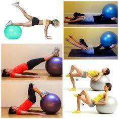 Stability Leg Workout Routine  #stabilityballroutine  #stabilityball