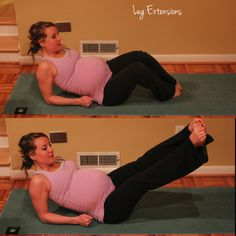 10 minute ab and core prenatal workout, third trimester, working out for two