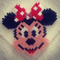 bead sprites patterns disney midi Minnie Mouse -