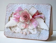 """Beautiful creation from """"Thoughts of a Cardmaking Scrapbooker"""""""