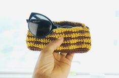 Are you feeling the summer heat yet? I certainly am. And this wavy crochet sunglass case comes in handy to keep my shades neatly and safely. Disclosure- This post contains an affiliate link; from which I will receive a commission if you make a purchase I currently live in the Middle East and once it … Crochet Projects, Free Pattern, Sunglasses Case, Crochet Hats, How Are You Feeling, Summer Heat, Middle East, Shades, Live
