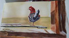 Arrogant rooster!