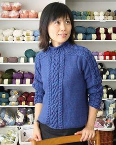 Ravelry: Carrick Pullover pattern by Ram Wools Yarn Co-op  free pattern