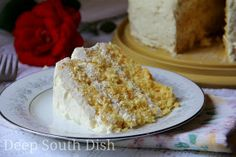 Mandarin Orange Cake, or Pig Pickin' Cake as it's fondly known, is made from a butter cake mix, mandarin oranges, crushed pineapple and whipped topping, and is a southern favorite.