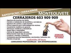 CERRAJEROS MONTEOLIVETE VALENCIA 603 909 909